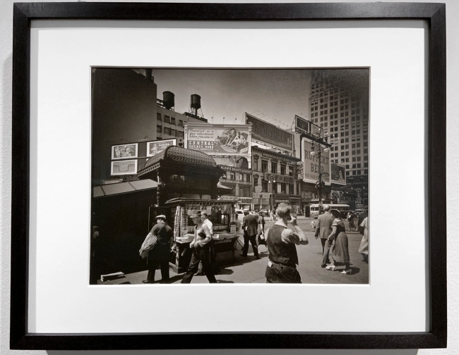 Berenice Abbott (American, 1898-1991) 'Union Square, 14th Street and Broadway, Manhattan' 1936 (installation view)