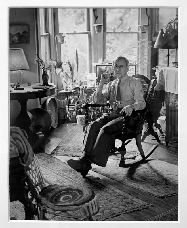 Berenice Abbott (American, 1898-1991) 'Lewis Hine' 1930 (Installation view)