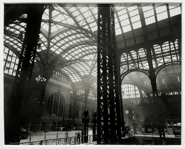 Berenice Abbott (American, 1898-1991) 'Penn Station, Manhattan' 1935 (installation view)