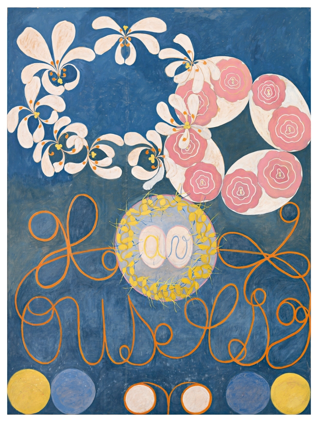 Hilma af Klint (Swedish, 1862-1944) 'The Ten Largest, No. 1, Childhood' 1907