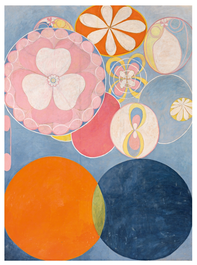 Hilma af Klint (Swedish, 1862-1944) 'The Ten Largest, No. 2, Childhood' 1907