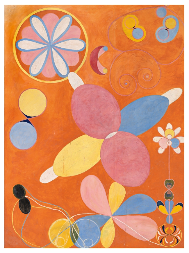 Hilma af Klint (Swedish, 1862-1944) 'The Ten Largest, No. 4, Youth' 1907