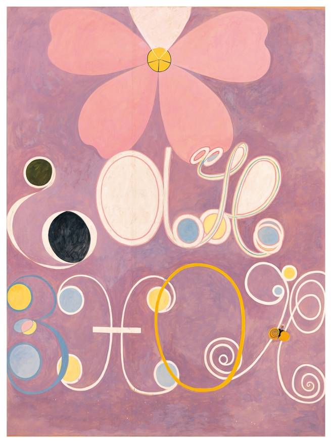 Hilma af Klint (Swedish, 1862-1944) 'The Ten Largest, No. 5, Adulthood' 1907