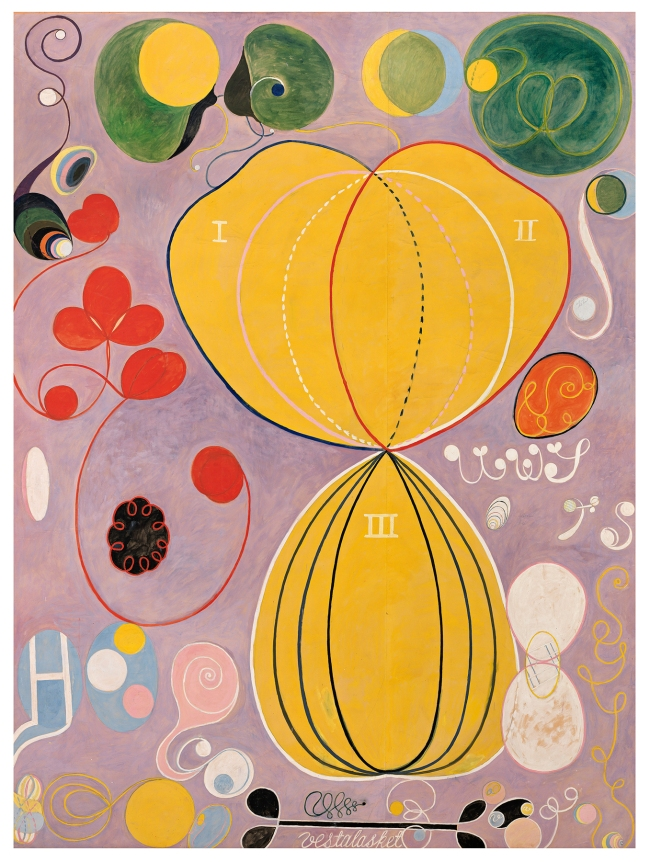 Hilma af Klint (Swedish, 1862-1944) 'The Ten Largest, No. 7, Adulthood' 1907