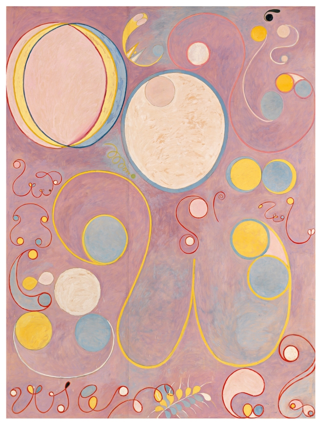 Hilma af Klint (Swedish, 1862-1944) 'The Ten Largest, No. 8, Adulthood' 1907