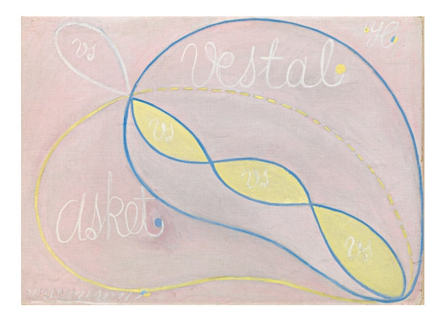 Hilma af Klint (Swedish, 1862-1944) 'Serie WU/Rosen, Grupp II, The Eros Series, No. 2' 1907