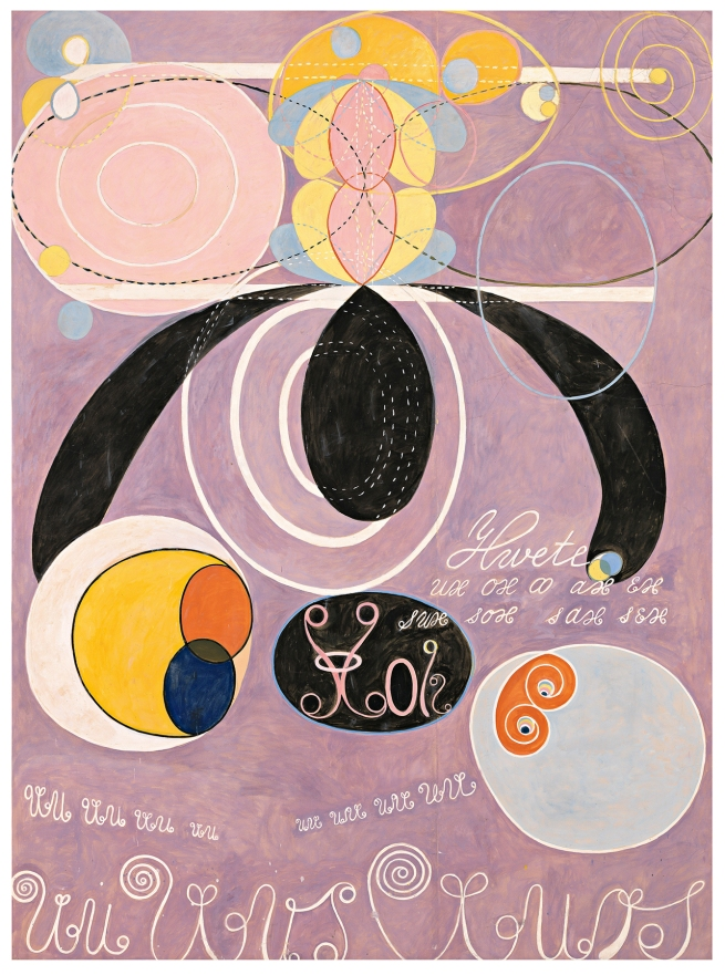 Hilma af Klint (Swedish, 1862-1944) 'The Ten Largest, no. 6' 1907