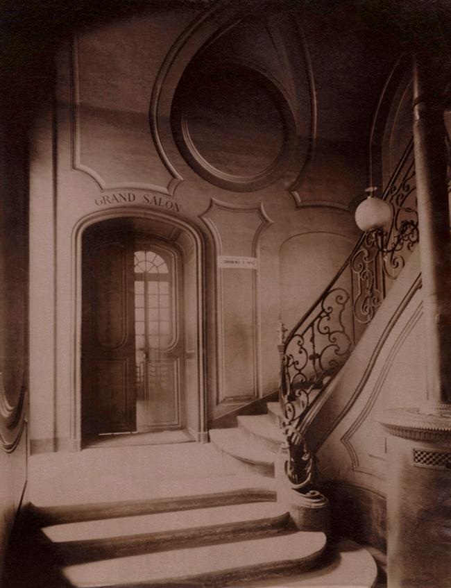 Eugène Atget (French, 1857-1927) 'Ancien Monastère des Bénédictins Anglais, 269 rue Saint-Jacques. Paris 5' 1900