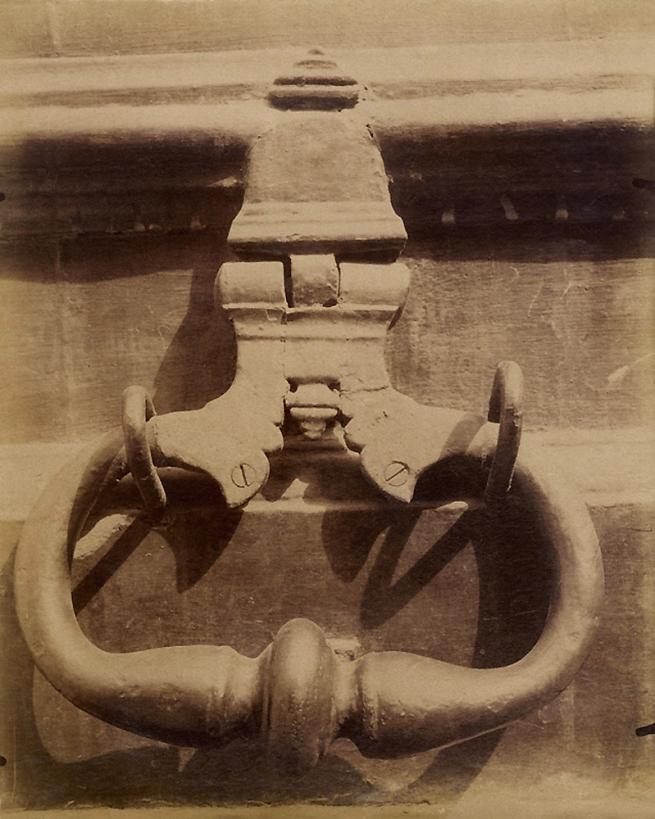 Eugène Atget (French, 1857-1927) 'Heurtoir, 19bis Rue Tournefort' 1906