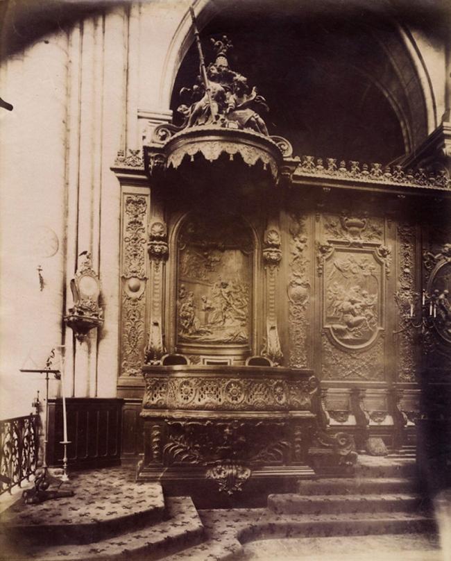 Eugène Atget (French, 1857-1927) 'Notre Dame, Paris' 1906