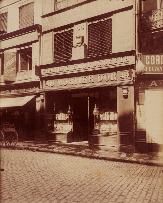 Eugène Atget (French, 1857-1927) 'Rue des Lombards, Paris' 1910