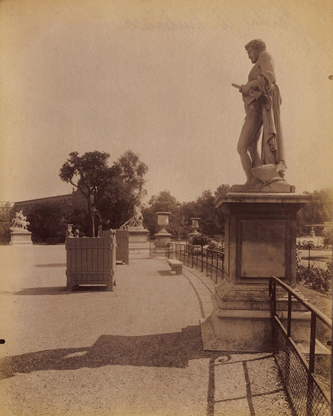 Eugène Atget (French, 1857-1927) 'Tuileries Gardens' 1907