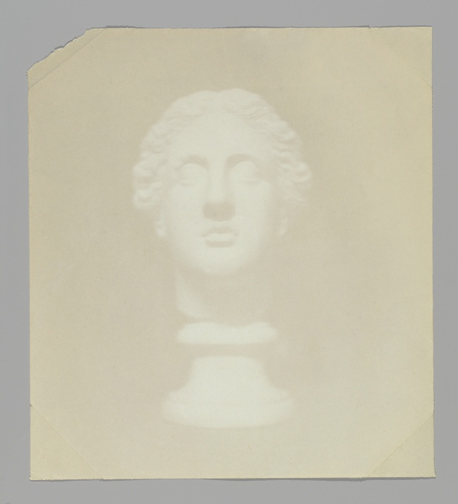 Hippolyte Bayard (French, 1801-1887) '[Classical Head]' probably 1839