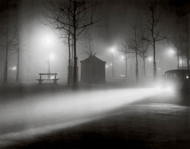 Brassaï (French, 1899-1984) 'Avenue de l'Observatoire in the Fog' c. 1937