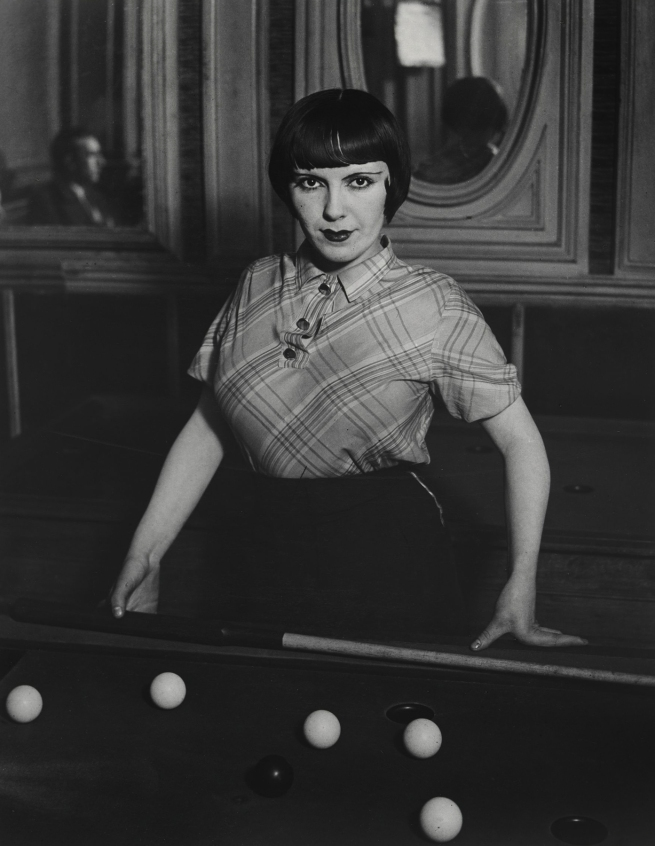 Brassaï (French, 1899-1984) 'Billiard Player, boulevard Rochechouart' 1932-33