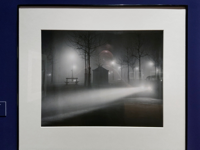 Brassaï (French, 1899-1984) 'Avenue de l'Observatoire in the Fog' c. 1937 (installation view)