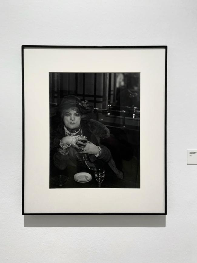 Brassaï (French, 1899-1984) 'La Môme Bijou, Bar de la Lune, Montmartre' 1932 (installation view)
