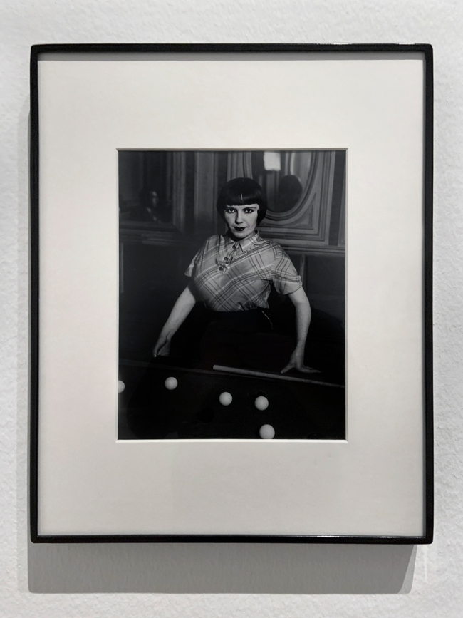 Brassaï (French, 1899-1984) 'Billiard Player, boulevard Rochechouart' 1932-33 (installation view)