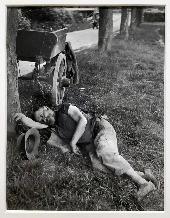 Brassaï (French, 1899-1984) 'Sleeping' c. 1935 (installation view)