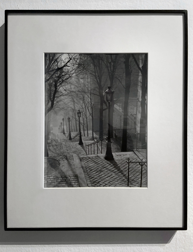 Brassaï (French, 1899-1984) 'Staircase, Montmartre' 1937 (installation view)