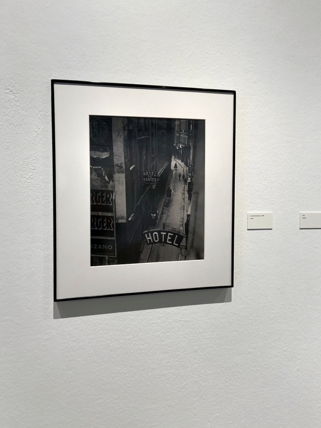 Brassaï (French, 1899-1984) 'La rue Quincampoix' c. 1932 (installation view)