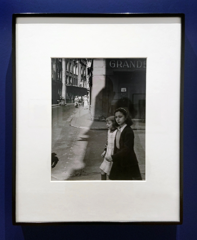 Brassaï (French, 1899-1984) 'Near the rue Mouffetard' c. 1945 (installation view)