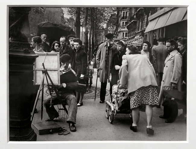 Brassaï (French, 1899-1984) 'Sunday Painter, avenue du Général Leclerc' 1946 (installation view)