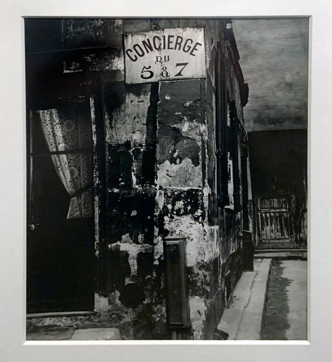 Brassaï (French, 1899-1984) 'Concierge's Lodge, Paris' 1933 (installation view)