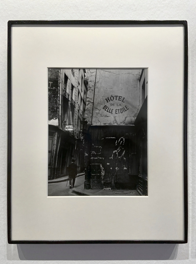 Brassaï (French, 1899-1984) 'Hôtel de la Belle Étoile' 1945 (installation view)