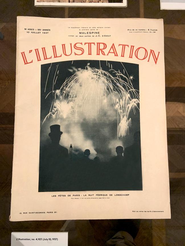 Brassaï (French, 1899-1984) 'Les Fétes de Paris: La Nuit Féerique de Longhamp' 1937