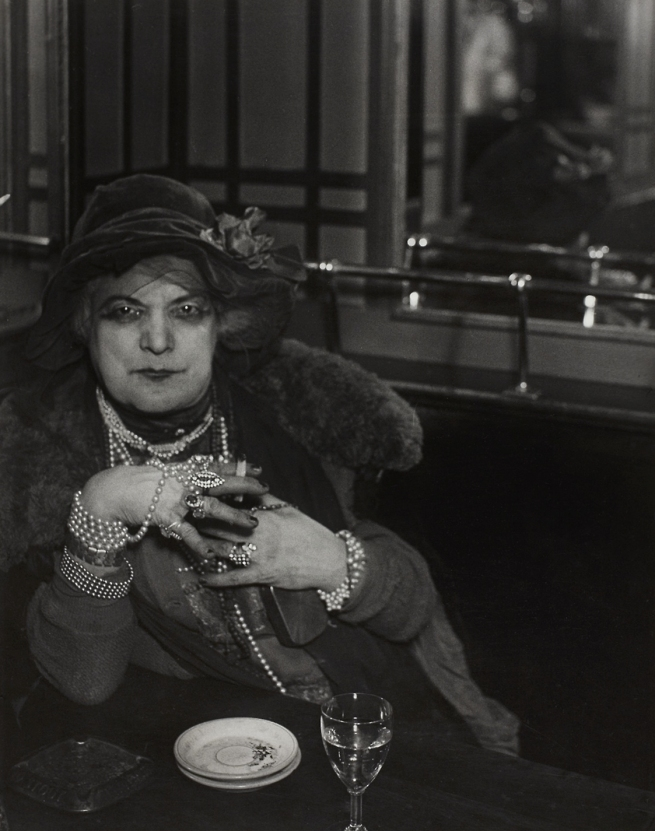 Brassaï (French, 1899-1984) 'La Môme Bijou, Bar de la Lune, Montmartre' 1932