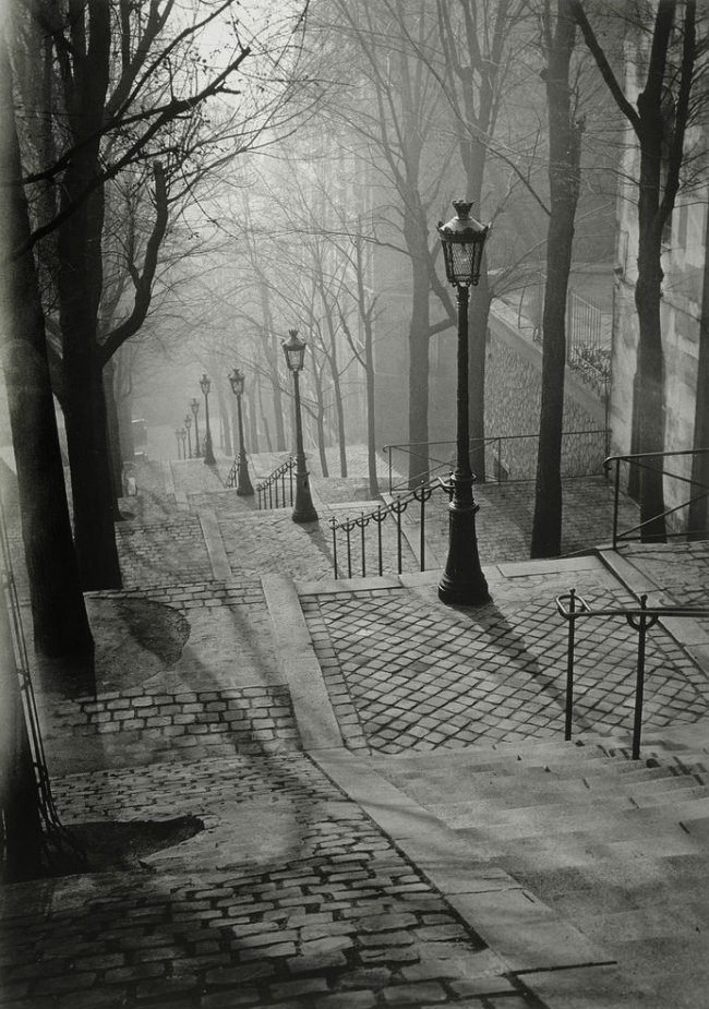 Brassaï (French, 1899-1984) 'Les Escaliers de Montmartre, Paris' 1936