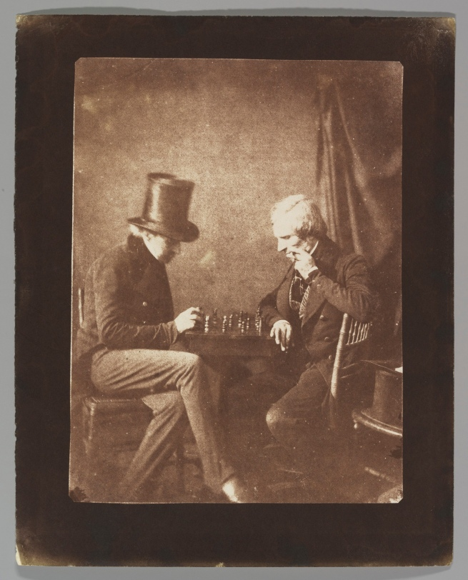 Antoine-François-Jean Claudet. 'The Chess Players' c. 1845