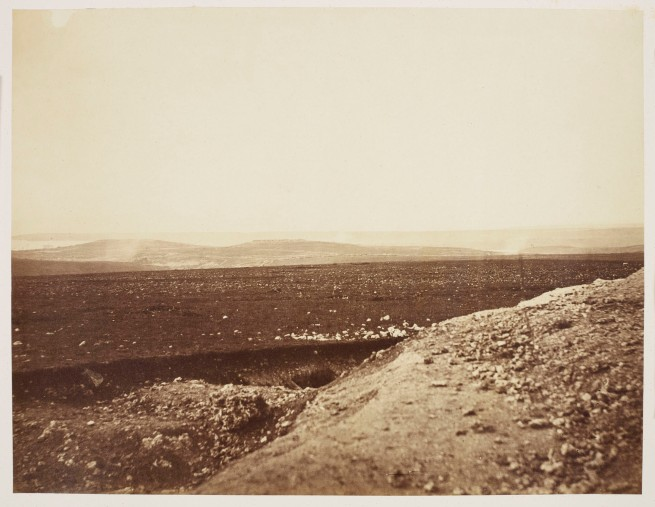 Roger Fenton (British, 1819-1869) 'The Mamelon and Malakoff from front of Mortar Battery' April, 1855