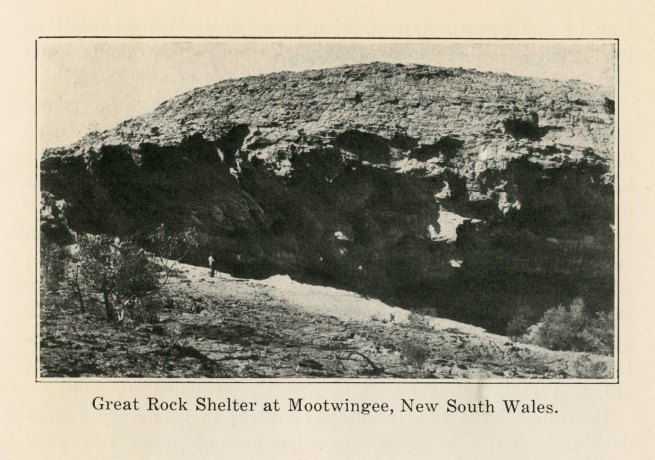 Great Rock Shelter at Mootwingee, New South Wales