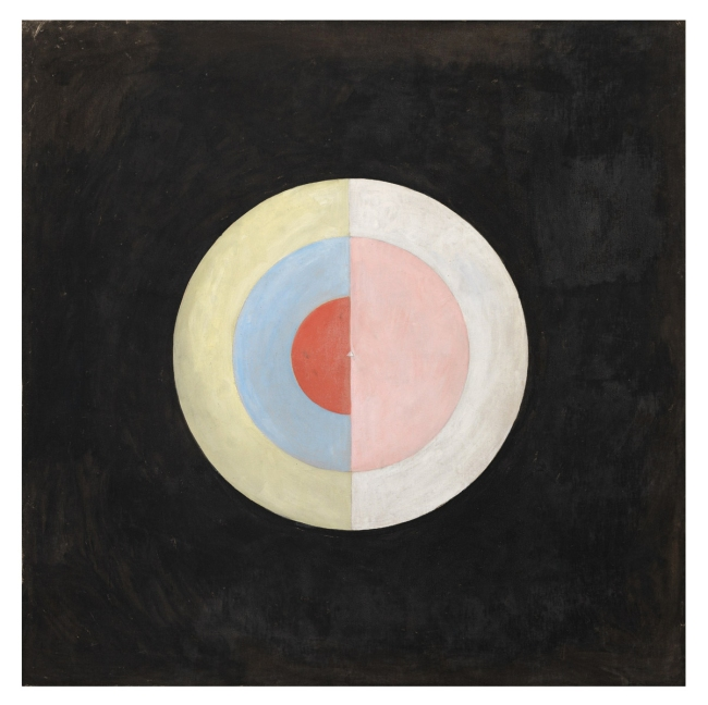 Hilma af Klint (Swedish, 1862-1944) 'Serie SUW/UW, Grupp IX/SUW, The Swan, No. 16' 1915
