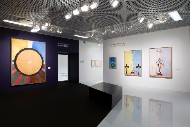 Installation view, 'Hilma af Klint', Moderna Museet Malmö, 2020