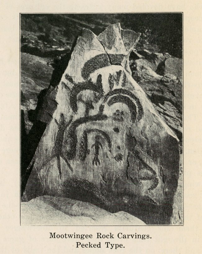 Mootwingee Rock Carvings