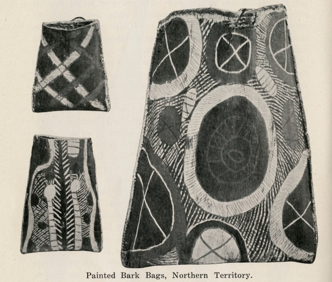 Painted Bark Bags, Northern Territory