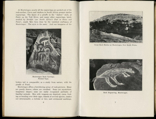 """The Primitive Artist"" by Charles Barrett in the pamphlet 'Australian Aboriginal Art' by Charles Barrett and A.S. Kenyon"