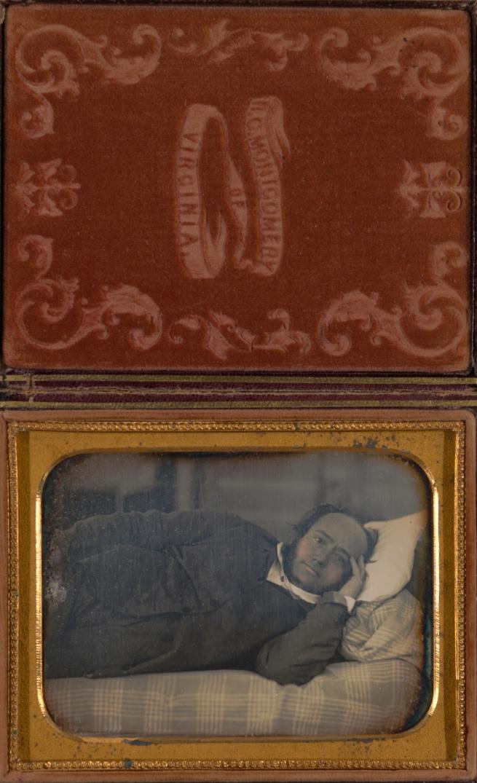 R.C. Montgomery (American, active 1850s) '[Self-Portrait (?)]' 1850s