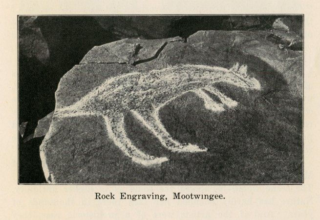 Rock Engraving, Mootwingee
