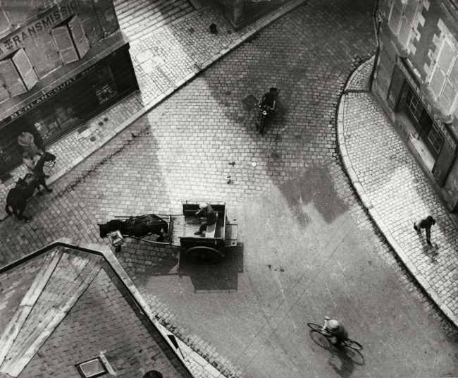 André Kertész (Hungarian, 1894-1985) 'Carrefour, Blois' 1930