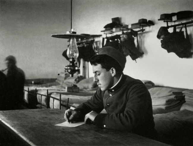 André Kertész (Hungarian, 1894-1985) 'Görz, Italy' 1915 (installation view)