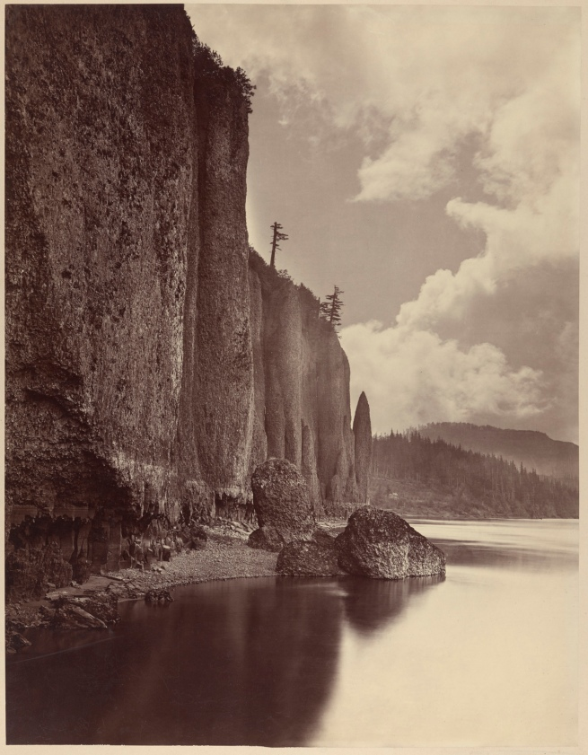 Carleton E. Watkins (American, 1829-1916) 'Cape Horn, Columbia River, Oregon' 1867