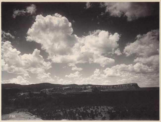 Adam Clark Vroman (American, 1856-1916) 'Cibollita Mesa (South from top of Mesa)' 1899