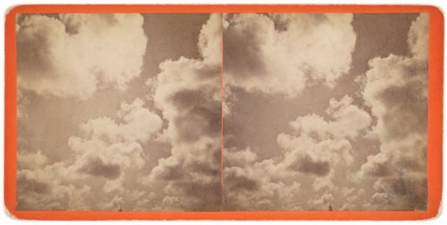 Eadweard J. Muybridge (English, 1830-1904) 'Clouds' 1868-1872