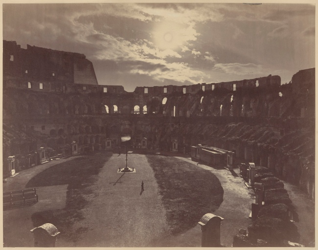 Gioacchino Altobelli (Italian, 1825-1878) 'The Colosseum' c. 1865