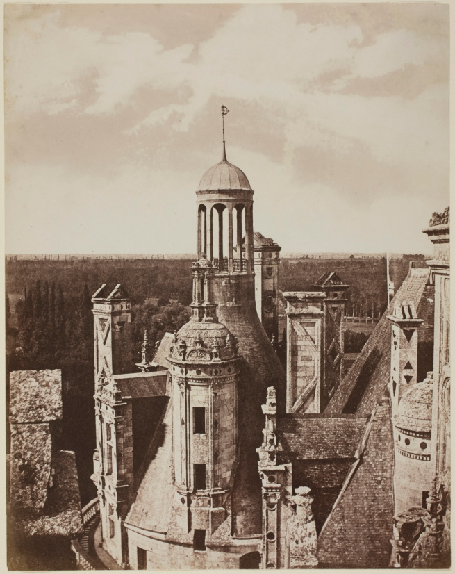 Count Camille Bernard Baillieu d'Avrincourt (French, 1824-1862) 'Château de Chambord' c. 1855