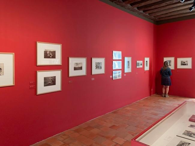Installation view of the exhibition 'L'equilibriste, André Kertész' at Jeu de Paume, Château de Tours